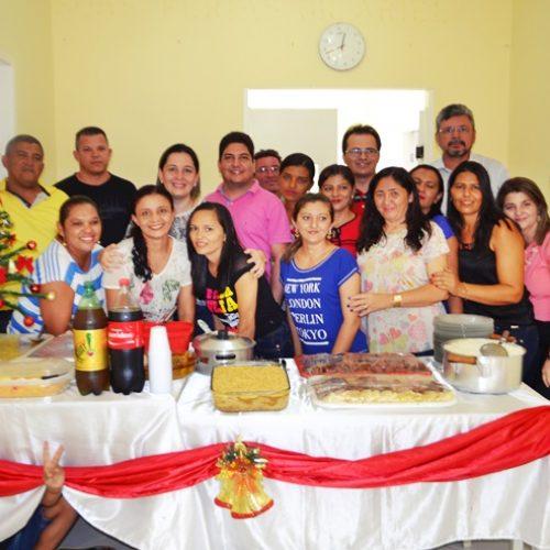 MASSAPÊ   Funcionários da Unidade Básica de Saúde realiza confraternização de Natal