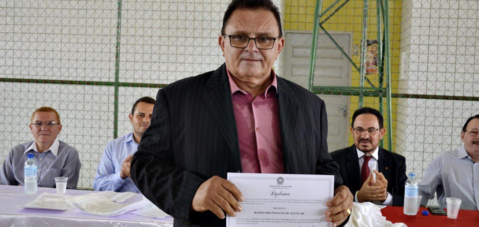 Prefeito eleito em Francisco Macedo divulga programação de posse; confira