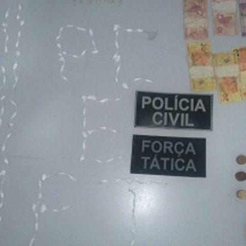 Polícia Civil prende homem com grande quantidade de droga no Piauí