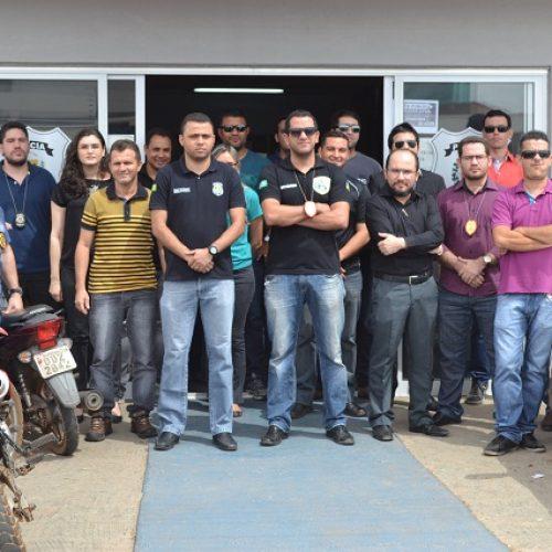 Polícia Civil de Picos faz paralisação contra reforma da previdência