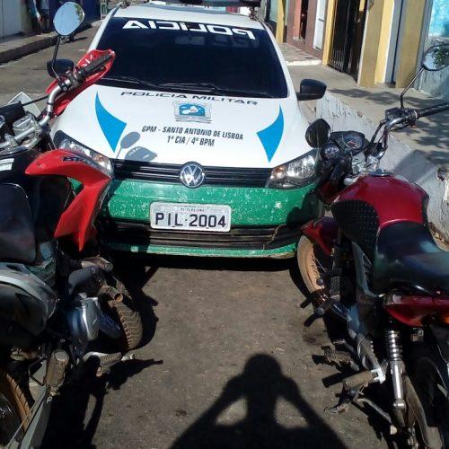 Polícia recupera veículo roubado em Santo Antônio de Lisboa