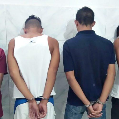 SIMÕES | Quatro são presos suspeitos de diversos furtos. Veja!