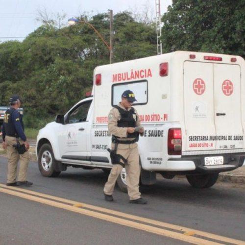 Coren e PRF vistoriam ambulâncias que circulam pelo Piauí