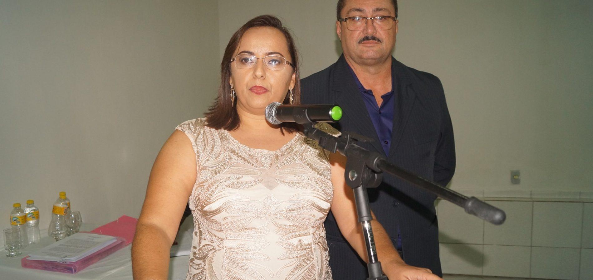 FOTOS l Zé Ulisses, Claudeir Feitosa e Vereadores são empossados em Simões Piauí
