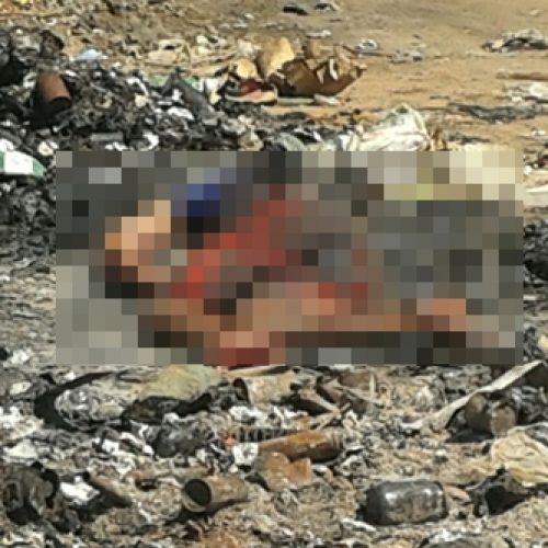 Corpo é encontrado no lixão às margens da BR-316 próximo a Valença
