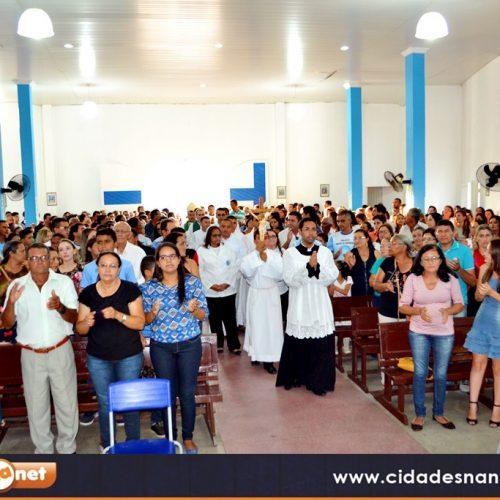 Missa Eucarística marca encerramento do Estágio Pastoral dos Seminaristas em Alegrete do Piauí; Veja fotos