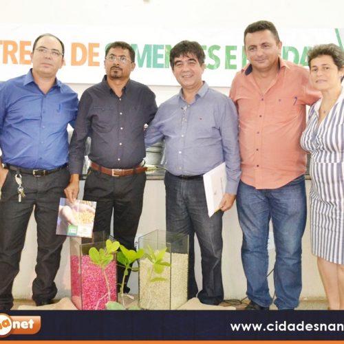 Campo Grande do Piauí recebe sementes e mudas para  agricultura familiar