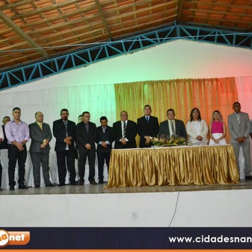 FOTOS | Posse de Nonato, Pereira e vereadores em Francisco Macedo