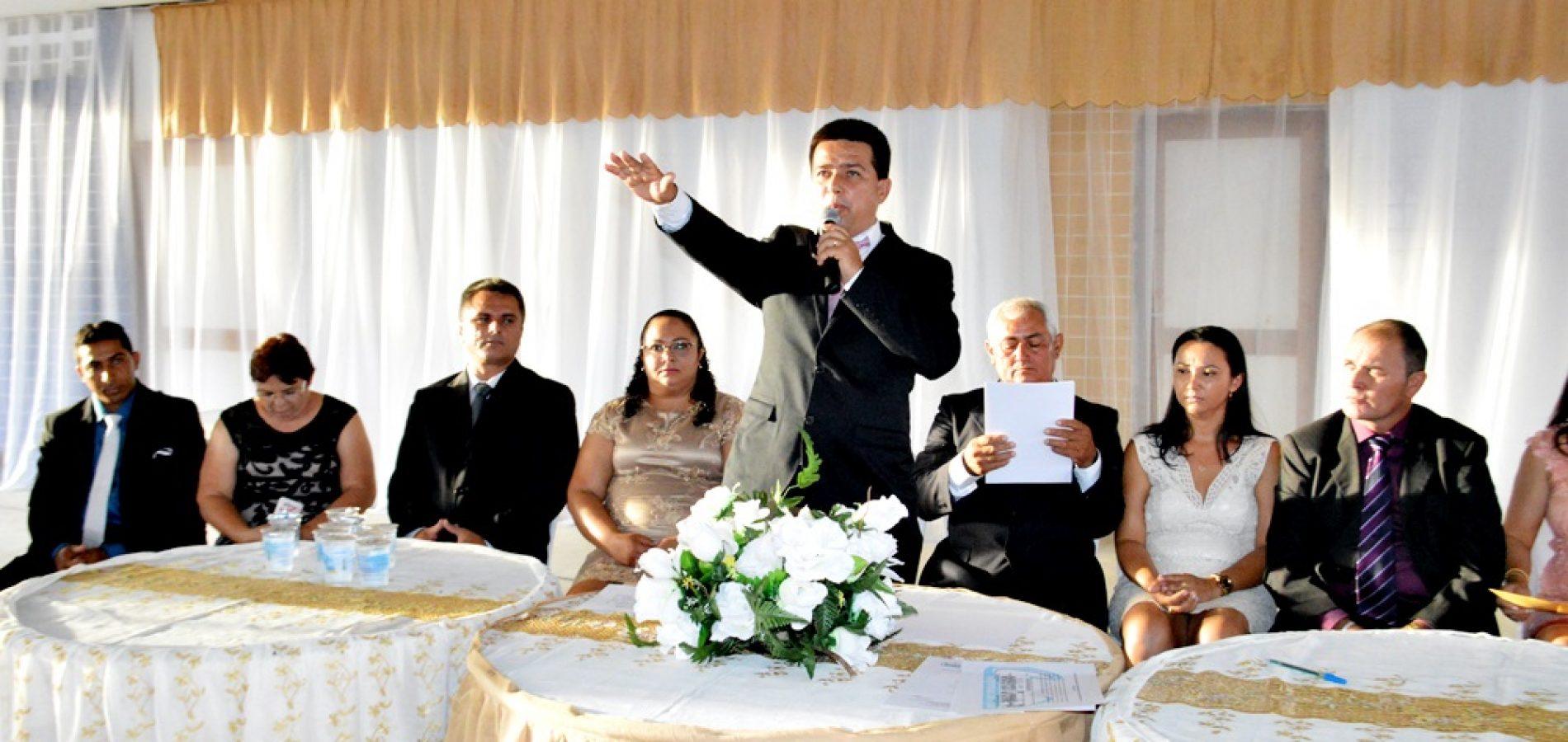 Vianney é reconduzido para o segundo mandato de prefeito em Caldeirão Grande do Piauí