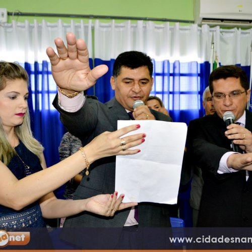 FOTOS   Posse de Dr. Jonas, Sodson e os 09 vereadores em São Julião-PI