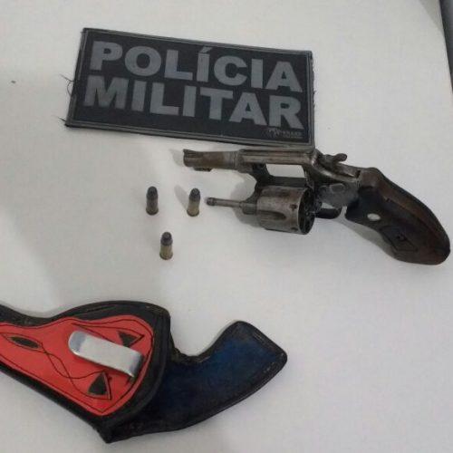 Motorista de van é preso após ser flagrado armado em Jaicós