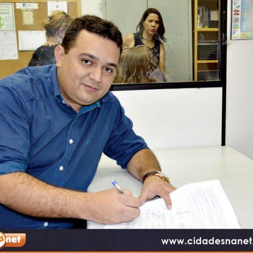 Toninho de Caridade é eleito na diretoria da APPM, assina o primeiro convênio e garante recurso para a Educação