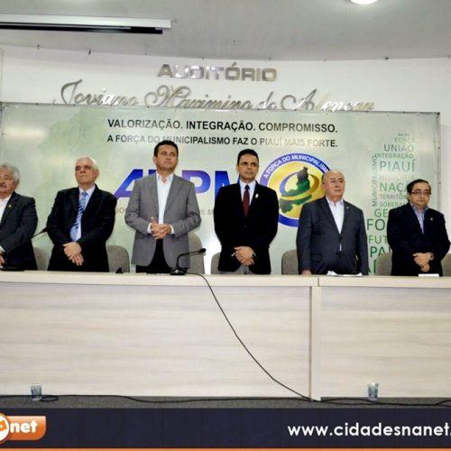FOTOS | Eleição da APPM e assinatura de convênio pelos prefeitos para elaboração do Plano Municipal de Saneamento Básico