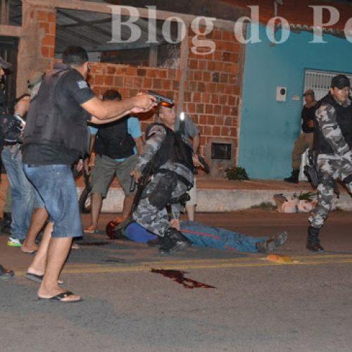 Assalto com reféns em lotérica do Piauí termina com um bandido morto