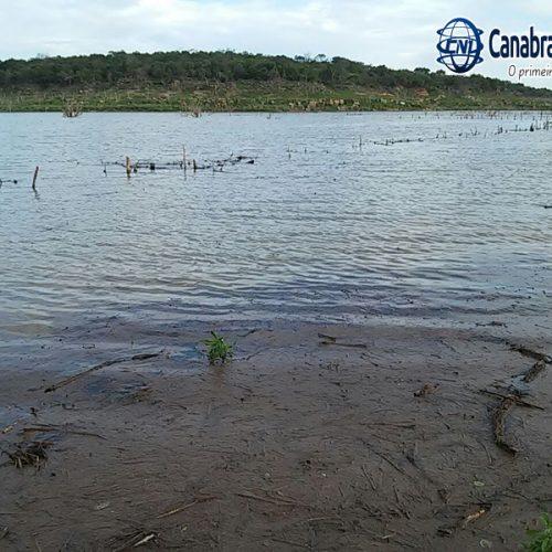 Chuvas elevam o nível da Barragem de Bocaina