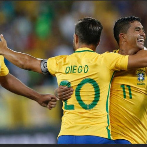 Brasil vence  Colômbia e volta a liderar ranking da Fifa