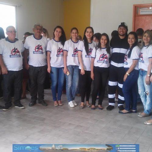 Secretaria de Saúde de Simões promove mobilização de combate ao Aedes aegypti; fotos