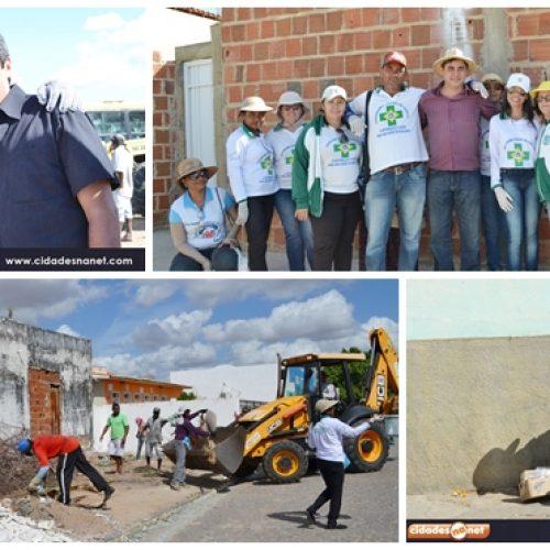 Prefeitura de Padre Marcos realiza Mutirão de Limpeza; veja imagens