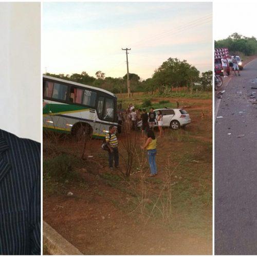 Prefeito eleito em Santana do Piauí morre vítima de acidente; seria empossado hoje