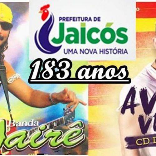 Prefeitura de Jaicós lança enquete para escolha de atração musical que animará aniversário da cidade