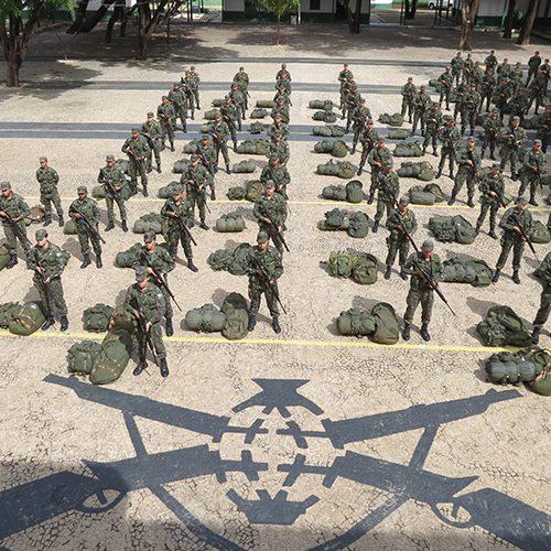 Exército do Piauí é chamado para reforçar segurança em Natal-RN