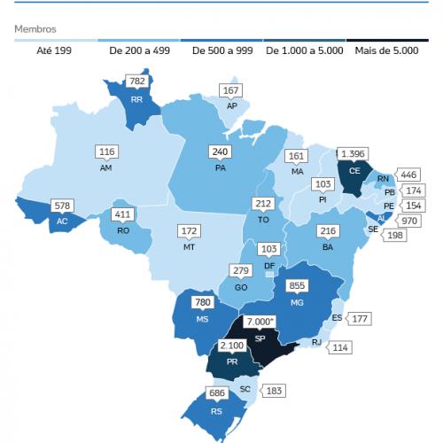 Ministério Público de SP aponta presença de 103 integrantes do PCC no Piauí