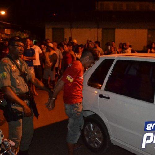 Homem é preso acusado de assalto durante incêndio em Picos