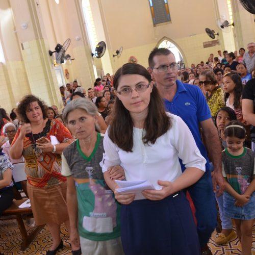 Natural de Simões, Irmã Raimunda de Jesus professa primeiros votos religiosos