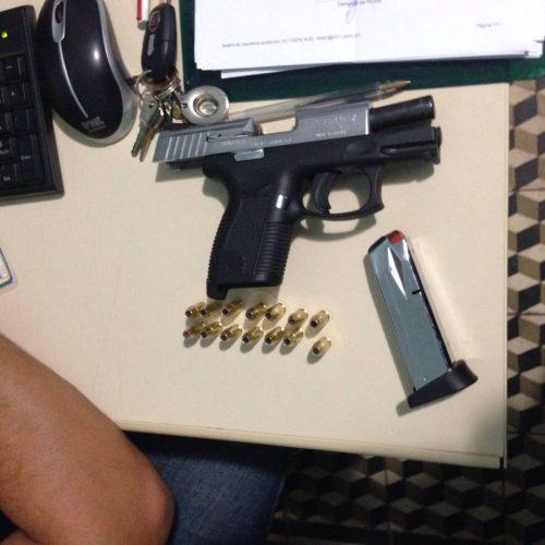 PAULISTANA   Polícia encontra arma carregada e proprietário é conduzido à delegacia