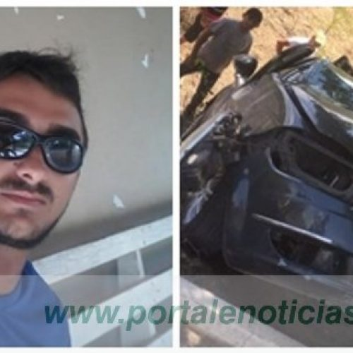 Jovem sofre grave acidente na BR-230 em São Julião