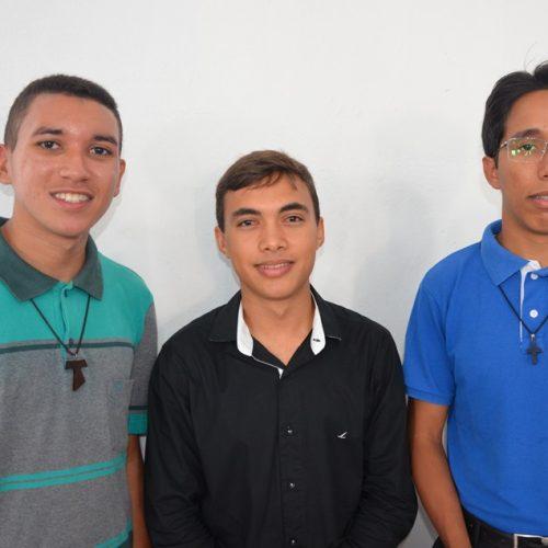 Três jovens da Diocese de Picos ingressarão no seminário Propedêutico em Fortaleza – CE