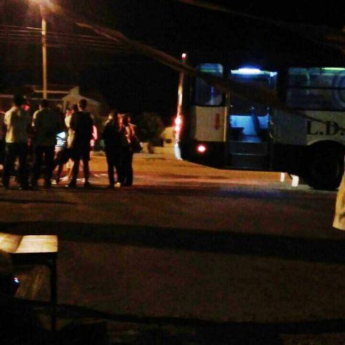 Bandidos armados fazem arrastão em ônibus no Centro de Picos