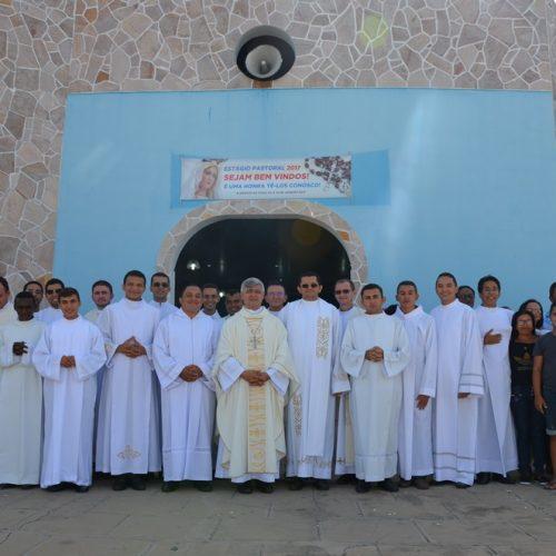 Seminaristas da Diocese de Picos iniciam Estágio Pastoral na cidade de Alegrete do Piauí