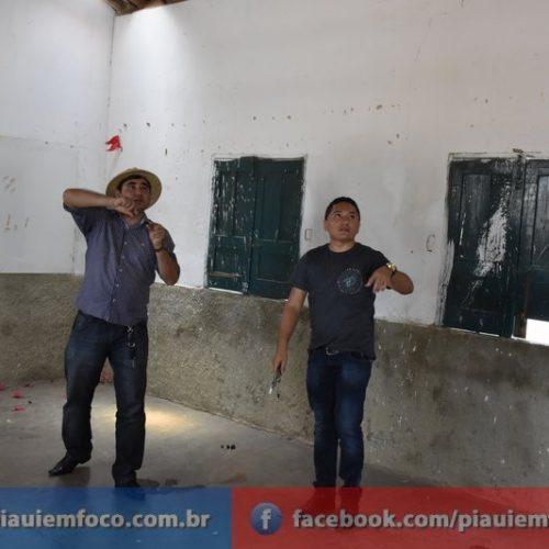 Valdinar visita as escolas do município de Padre Marcos