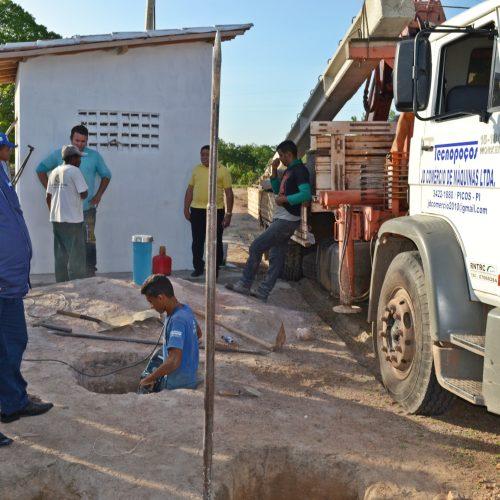 Estamos investindo mais de R$ 1,4 milhão em abastecimento de água, diz prefeito de Belém do PI