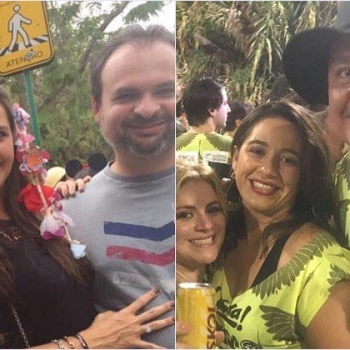 Nerinho e Mainha curtem carnaval em Salvador e no Rio de Janeiro