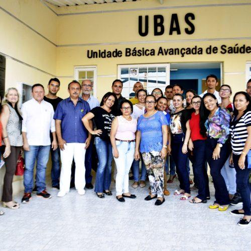 Prefeito reúne equipe da saúde  para traçar metas e estratégias de trabalho para 2017, em Vila Nova