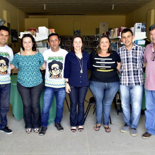 Equipe técnica da Secretaria de Cultura do Estado visita Ponto de Cultura em Vila Nova