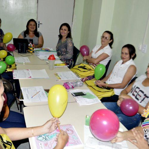 Oficinas e palestras encerram Semana Pedagógica em Vila Nova do PI; veja fotos