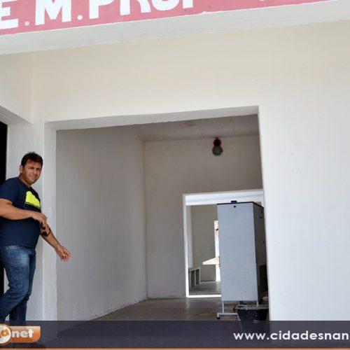 Escolas de Francisco Macedo recebem melhorias para o ano letivo de 2017. Veja