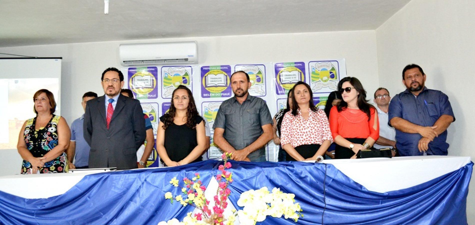 Palestras com foco na qualidade do ensino aprendizagem abrem a Jornada Pedagógica em Belém do Piauí