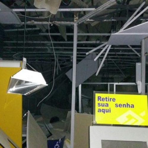 Quadrilha explode dois postos bancários no interior do Piauí