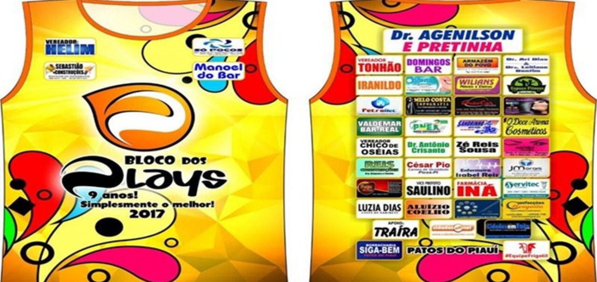 Bloco dos Plays de Patos do Piauí se prepara para  9º ano de  carnaval