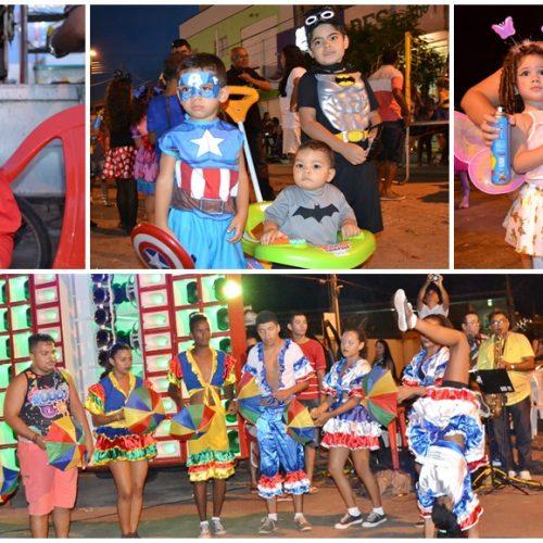 Criançada comemora os 183 anos de Jaicós em Matinê; veja fotos