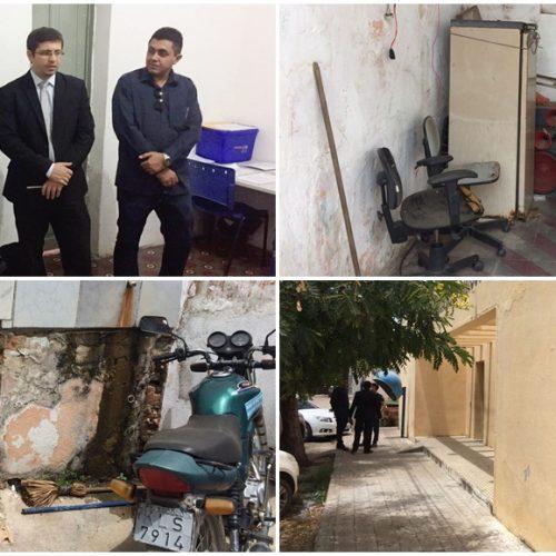 "OAB visita Jaicós e constata precariedade na Delegacia de Polícia; ""Fiquei horrorizado"", diz presidente"