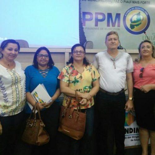 Secretária de Educação de Queimada Nova participa de seminário da Undime na APPM