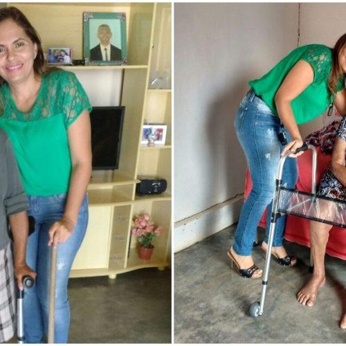 Saúde entrega aparelhos ortopédicos em Patos do Piauí
