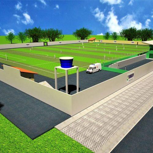 Márcio Alencar confirma construção de Estádio Municipal em Alegrete do Piauí