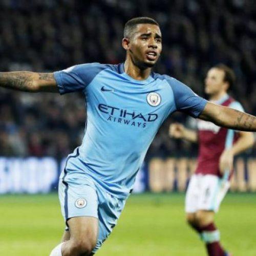 City mostra segundo gol de Gabriel Jesus contra o Swansea por todos os ângulos