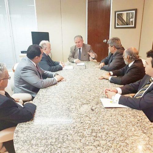 Dep. Georgiano tem encontro em Brasília para viabilizar ZEP de Parnaíba